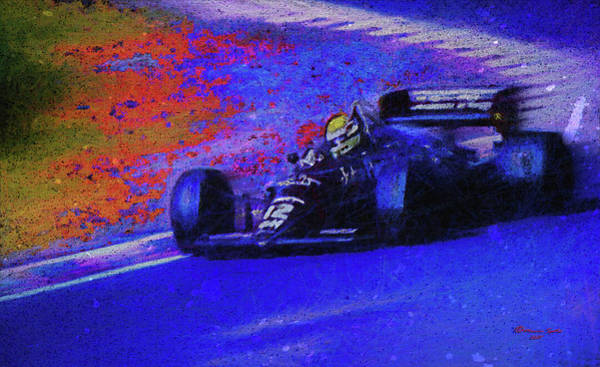 Racing Mixed Media - John Player Special by Marvin Spates