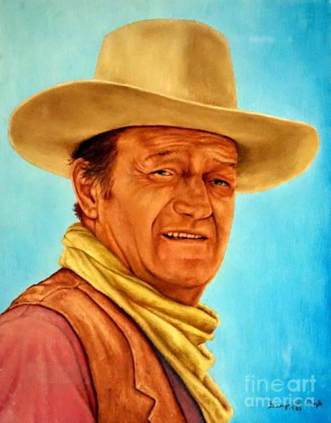 Painting - John Wayne by Georgia's Art Brush