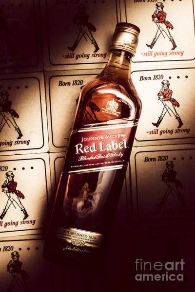 Editorial Photograph - Johnnie Walker Red Label Blended Whisky  by Jorgo Photography - Wall Art Gallery