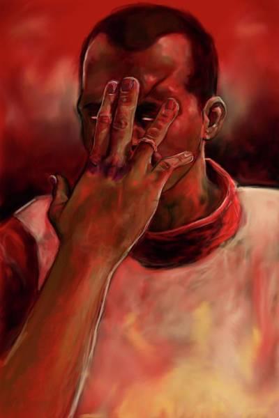 Paladin Digital Art - Johnny Boy by Emily Turnage