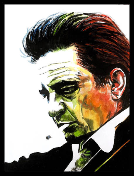 Johnny Cash Art Print