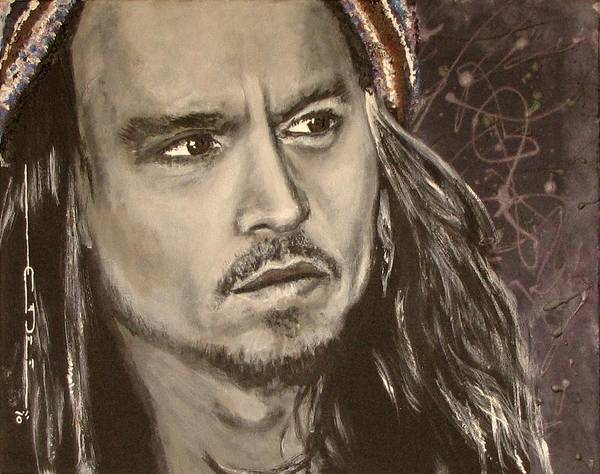 Johnny Depp Painting - Johnny Depp by Eric Dee