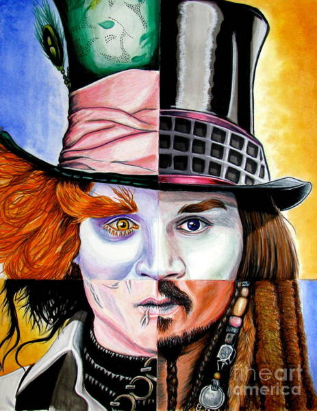 Johnny Depp Painting - Johnny Depp's Greatest by Andres Machado