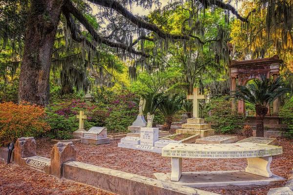 Photograph - Johnny Mercer Grave by Joan Carroll