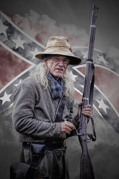 Photograph - Johnny Reb by Randall Nyhof