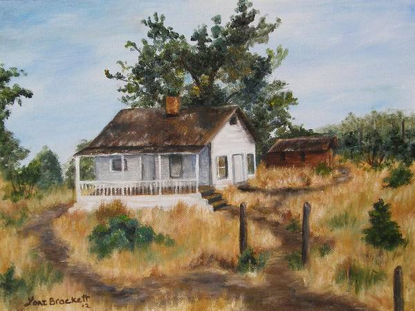 Painting - Johnny's Home by Lori Brackett