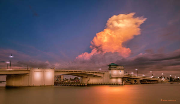 Stormcloud Photograph - John's Pass by Marvin Spates