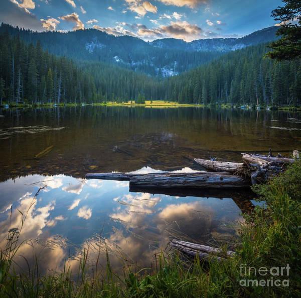Wall Art - Photograph - Johnson Lake Sunset by Inge Johnsson