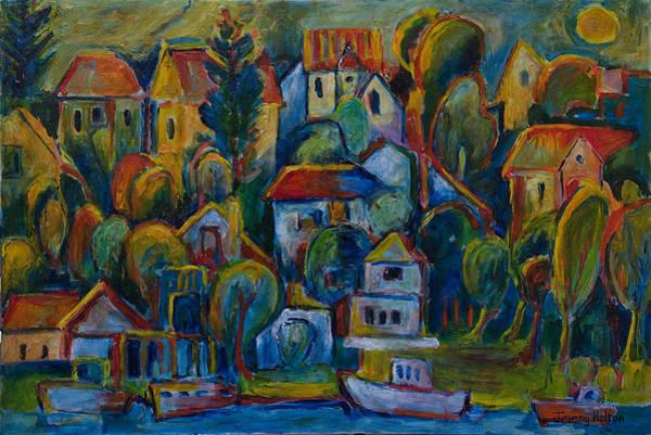 Painting - Joie De Vivre by Jeremy Holton