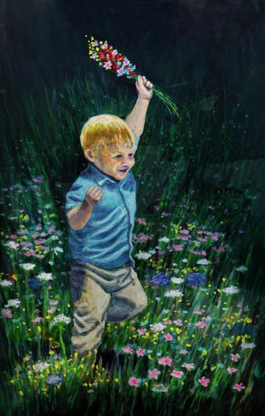 Painting - Joie De Vivre by Rick Mosher