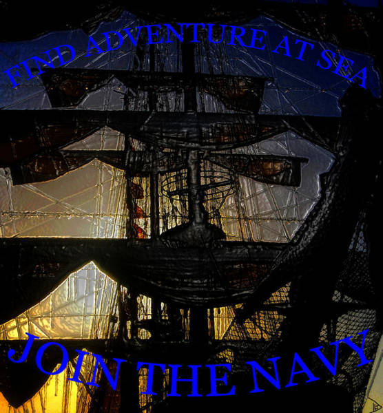 Recruitment Painting - Join The Navy by David Lee Thompson