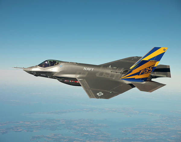 Wall Art - Painting - Joint Strike Fighter by MotionAge Designs