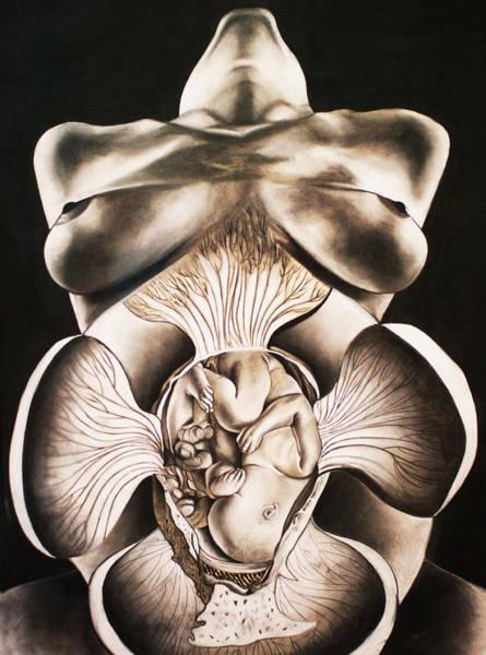 Nine Lives Drawing - Joire De Vivre by Ramneek Narang