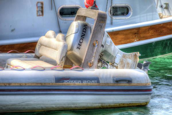Wall Art - Photograph - Joker Boat by David Pyatt