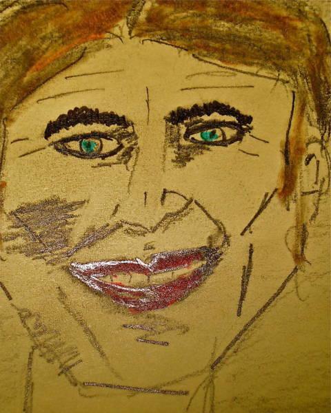 Joker Smiling Art Print