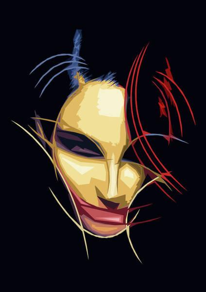 Subjective Digital Art -  Joker Woman by Luca Esposito