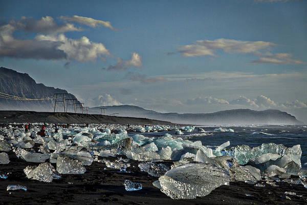 Photograph - Jokulsarlon Beach - Iceland by Stuart Litoff