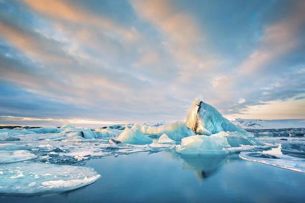 Photograph - Jokulsarlon Glacier Lagoon by Mihai Andritoiu
