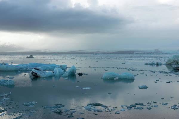 Photograph - Jokulsarlon, The Glacier Lagoon, Iceland 1 by Dubi Roman