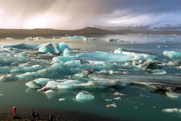 Art Print featuring the photograph Jokulsarlon The Magnificent Glacier Lagoon, Iceland by Dubi Roman
