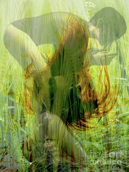 Mixed Media - Jolie Et Du Feu #3 by Kasey Jones