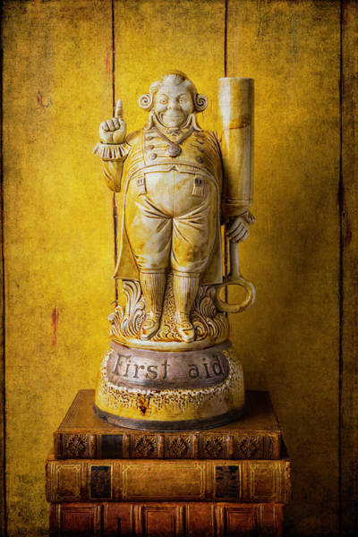 Wall Art - Photograph - Jolly Old World First Aid Statue by Garry Gay