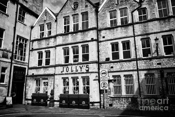 Wall Art - Photograph - Jollys Department Store And Tea Room Now House Of Fraser Bath England Uk Jollys Is One Of The Oldest by Joe Fox