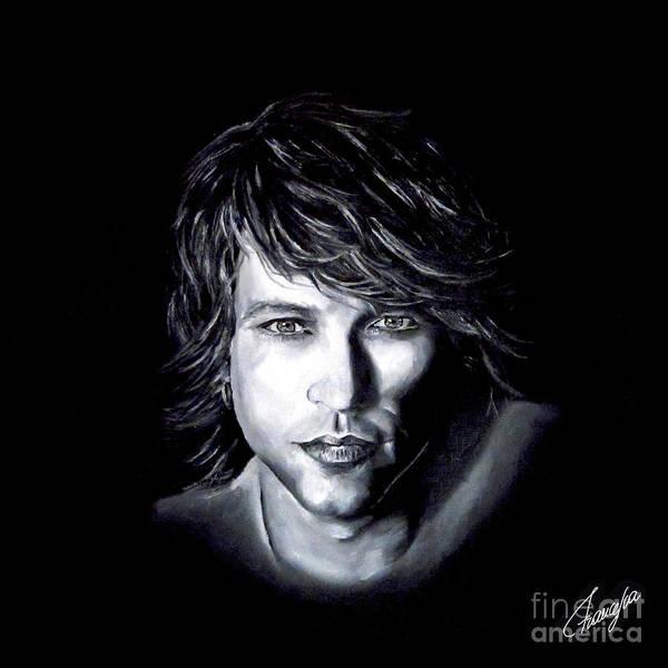 Rockstar Painting - Jon Bon Jovi - It's My Life by Francesca Agostini