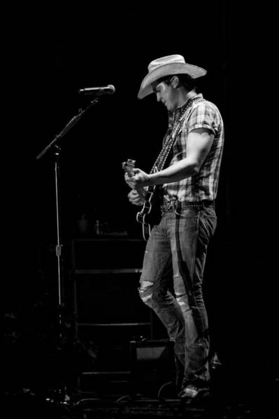 Summerfest Photograph - Jon Pardi Guitar 3 by Mike Burgquist