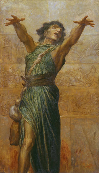 Painting - Jonah by George Frederic Watts