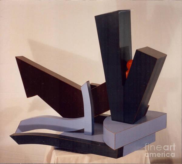 Sculpture - Jonah by Robert F Battles