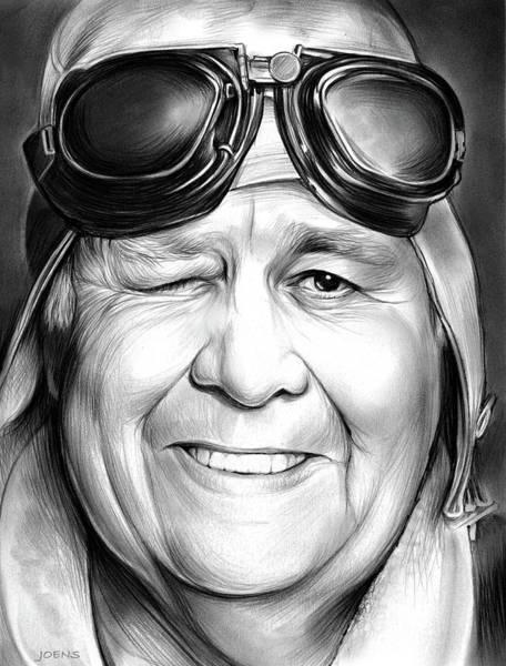 Comedy Wall Art - Drawing - Jonathan Winters by Greg Joens