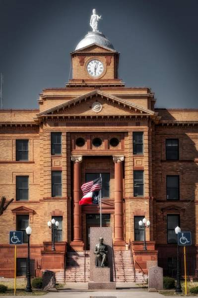 Courthouse Towers Wall Art - Photograph - Jones County Courthouse by Mountain Dreams