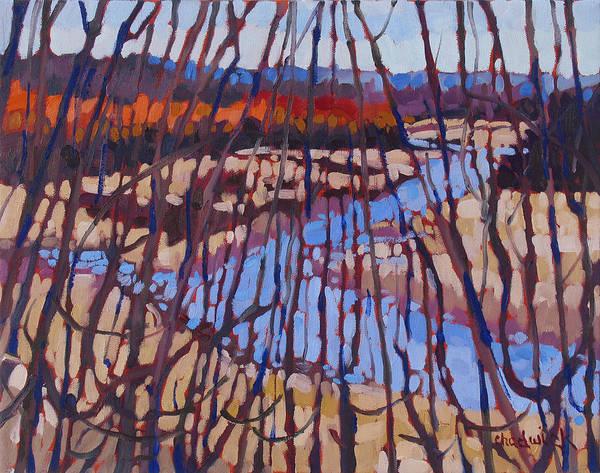 Stratocumulus Painting - Jones Creek by Phil Chadwick