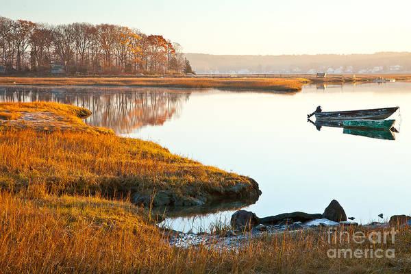 Photograph - Jones River Saltmarsh by Susan Cole Kelly