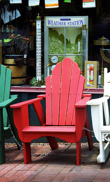 Photograph - Jonesborough Tennessee - Comfy Chair by Frank Romeo