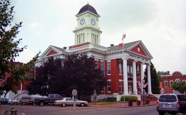 Photograph - Jonesborough, Tennessee - Courthouse by Frank Romeo