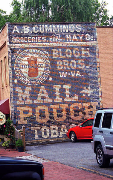 Photograph - Jonesborough Tennessee - Ghost Mural by Frank Romeo
