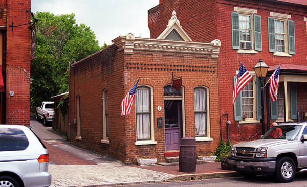 Photograph - Jonesborough, Tennessee - Main Street 3 by Frank Romeo