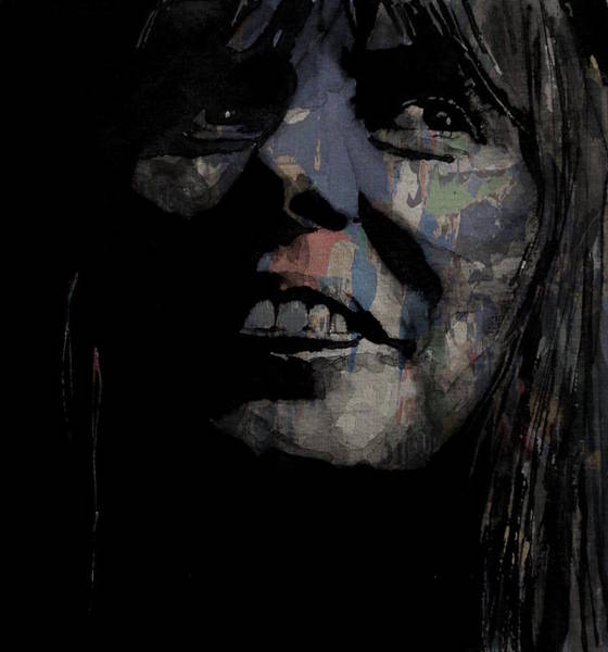 Wall Art - Mixed Media - Joni Mitchell - A Case Of You by Paul Lovering