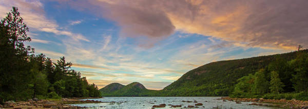 Photograph - Jordan Pond And The Bubbles Panorama by Juergen Roth