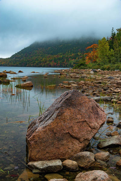 Photograph - Jordan Pond by Gary Lengyel