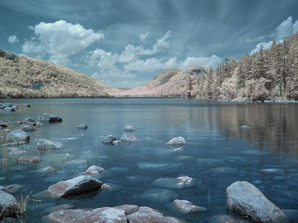 Jordan Pond Photograph - Jordan Pond Horizon by Bob LaForce