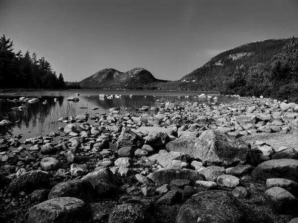 Photograph - Jordan Pond No.2 by Mark Myhaver