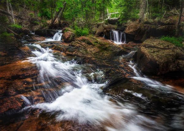 Jordan Pond Photograph - Jordan Stream - Acadia National Park by Jeff Bazinet