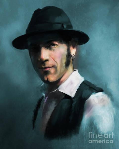Digital Art - Mr. Marin by Dwayne Glapion