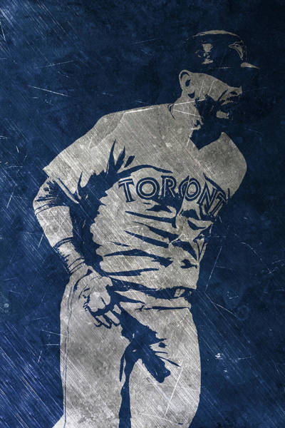Wall Art - Painting - Jose Bautista Toronto Blue Jays Art by Joe Hamilton