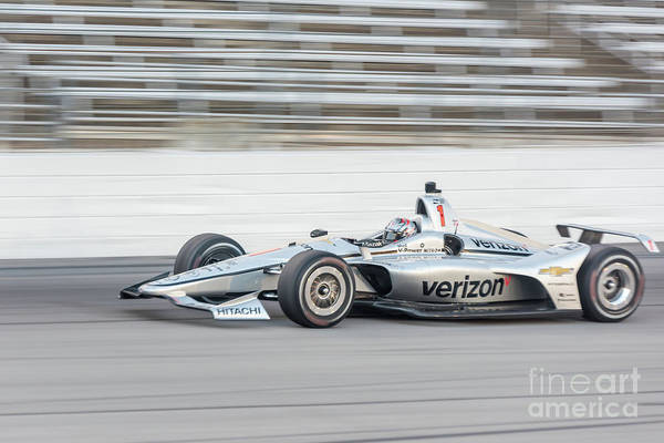 Photograph - Josef Newgarden Indy Car  by Paul Quinn
