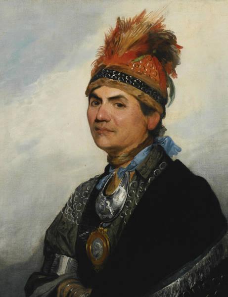 Painting - Joseph Brant by Gilbert Stuart