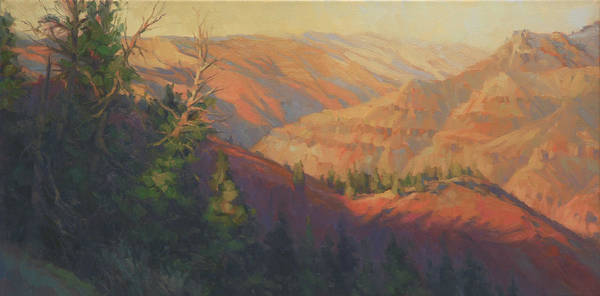 West Indian Wall Art - Painting - Joseph Canyon by Steve Henderson